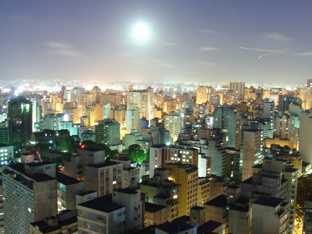 Sao Paolo in Brazil