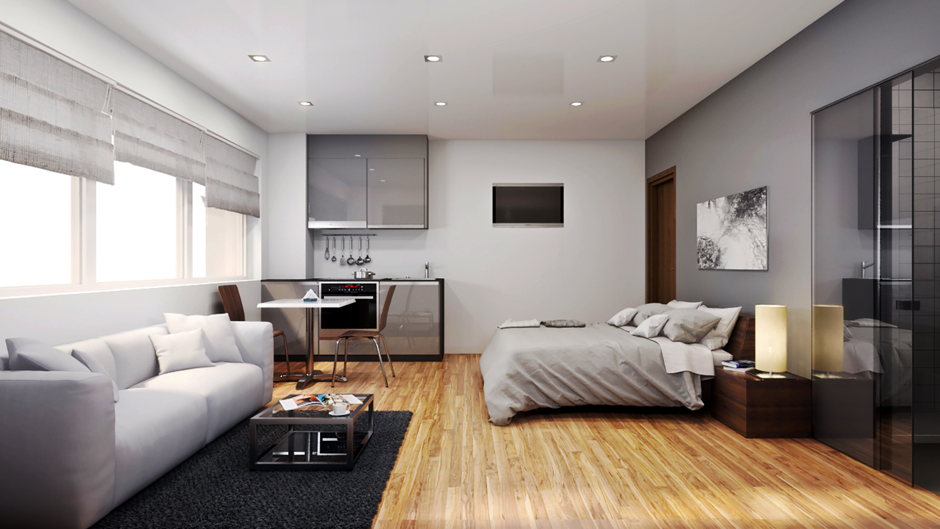Keele House Dual Purpose Studio Apartments